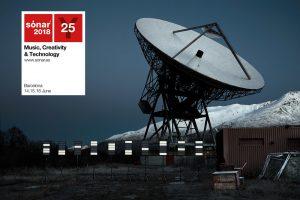 El cartell d'aquest any recordan el Sónar Calling, en què 38 artistes han enviat peces musicals a un exoplaneta potencialment habitable