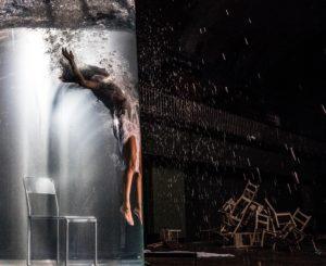 GÉRALDINE ARESTEANU | La ballarina Marie Vaudin interpretant una coreografia en apnea a l'obra de Yoann Bourgeois a l'antic Museu Guimet de Lió