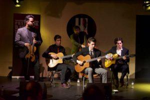 ARCHIVO FESTIVAL DJANGO L'H | El Pierre Ménard Quintet, en el festival de L'Hospitalet de Llobregat