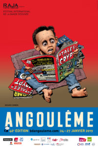 ARXIU | El cartell del nord-americà Richard Corben que il·lustrava el Festival d'Angulema 2019