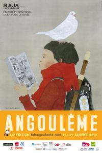 ARXIU | I el cartell per al Festival d'Angulema 2019 del japonès Taiyo Matsumoto, representant dels autors de manga