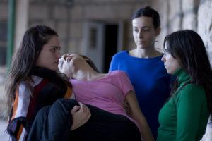 ARXIU | Les quatre actrius centrals de <em>La flor</em> al primer episodi: Pilar Gamboa, Valeria Correa, Elisa Carricajo i Laura Paredes