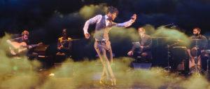 JUSTIN BROWN | Un momento de Federico García, de Pep Tosar, con los cinco intervinientes en la obra