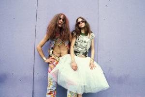 MIGUEL TRILLO | Una parella que assistia al concert dels Rolling Stones a Madrid, el 1982, fotografiada per Trillo