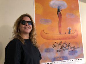 VICENÇ BATALLA | Claudia Calviño, responsable de la cubana Producciones de la 5ta. Avenida, al festival Cinélatino de Tolosa