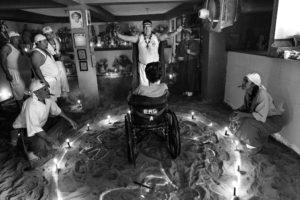 © ÁLVARO YBARRA ZAVALA | A la mort del president Hugo Chávez, el 2013, el culte a la deessa María Lionza va prendre sovint una dimensió política, com en aquesta cerimònia a Caracas