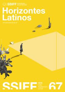 ARXIU | El cartell de la programació Horizontes Latinos del Festival de Sant Sebastià 2019