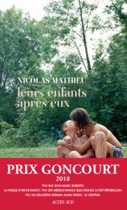 ARXIU | La portada de l'original francès de Leurs enfants après eux, de Nicolas Mathieu, publicat a Actes Sud