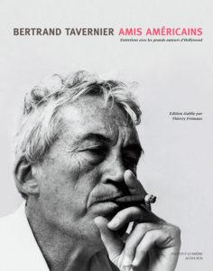 ARXIU | Portada del llibre <em>Amis américains</em>, de Bertrand Tavernier, amb una imatge de John Huston al rodatge de La nit de la iguana de 1964