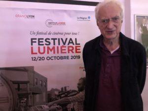 VICENÇ BATALLA | Le réalisateur et critique de cinéma Bertrand Tavernier, au Festival Lumière de Lyon 2019