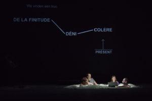 BEABORGERS | Quatre dels participants a l'obra Germinal, entre ells Halory Goerger al mig