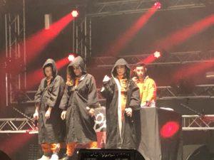 VICENÇ BATALLA | Els primers moments del concert de Tribade a Rennes, amb els hàbits de monjo abans de la sacsejada