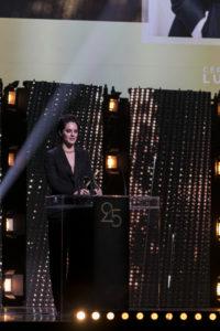 MAXIME BRAULT/STARFACE   Noémie Merlant, avec le prix à la meilleure actrice pour Portrait de la jeune fille en fleur