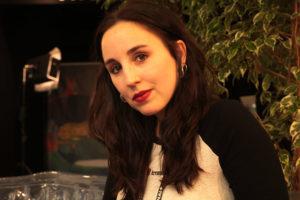 SILVIA LIZARDO | La actriz Cris Iglesias, protagonista de 16 de decembro, en el Festival de Cortometrajes de Clermont-Ferrand en febrero