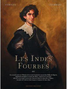 ARCHIVO | La portada de la versión original francesa de <em>Les Indes fourbes</em>, publicado por Delcourt