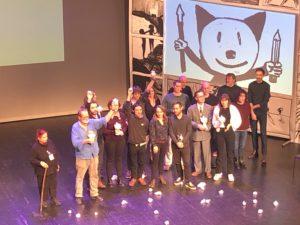 VICENÇ BATALLA | Els guanyadors dels Fauve d'Angulema 2020, en senyal reivindicativa