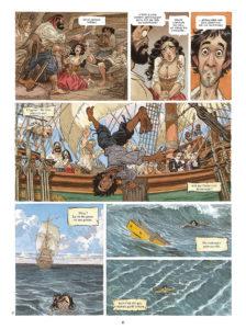 ARXIU | El moment en què Pablo de Segovia viu la seva primera aventura camí de les Índies, segons la imaginació d'Ayroles i Guarnido