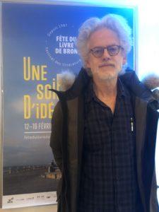 VICENÇ BATALLA | El escritor Santiago H. Amigorena, en el Salón del Libro de Bron en febrero