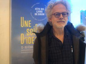 VICENÇ BATALLA | L'écrivain Santiago H. Amigorena, à la Fête du livre de Bron en février