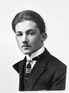 ARCHIVO PERSONAL | Una fotografía de Vicente Rosenberg, el abuelo de Santiago Amigorena, en los años veinte antes de que llegara a Buenos Aires