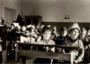 ARCHIVO | Una imagen de las aulas en la España de los años sesenta