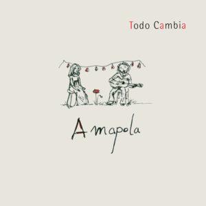 ARCHIVO | La portada del álbum Todo cambia de Amapola, publicado en pleno confinamiento y con dibujo de Manon Doucet