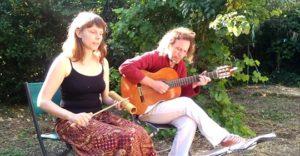 ARXIU | El primer concert desconfinat d'Amapola, el 13 de juny, en un jardí privat de Montpeller