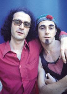 FRANCESC FÀBREGAS | Jaume Sisa i Pau Riba, per a la portada de la revista Vibraciones d'agost del 1976