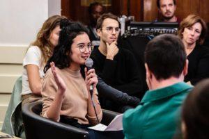 BRICE ROBERT | Una intervenció de l'Élise Phamgia, coordinadora general de Liveurope