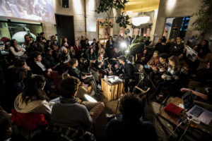 ARCHIVE | Un rencontre précédent de l'European Lab d'Arty Farty, à l'origine de L'Appel des indépendants de la culture en France