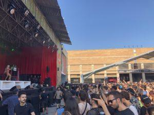 VICENÇ BATALLA | El públic estrenyent-se en un dels escenaris del Sónar 2019 per l'actuació de Bad Gyal, imatge que no s'ha pogut repetir aquest any