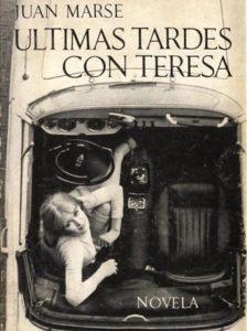 ARXIU | La mítica portada de Últimas tardes con Teresa (Seix Barral, 1966), amb fotografia d'Oriol Maspons