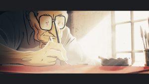 ARCHIVE | Josep Bartolí, dans les dernières années de sa vie à New York où il continuait à travailler comme illustrateur et peintre vu par le film <em>Josep</em>