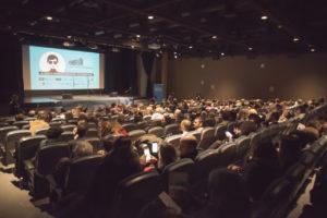 ARCHIVO | El auditorio del Instituto Francés de Barcelona, en la sesión inaugural del festival Ohlalà! de la segunda edición en marzo de 2019
