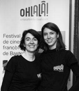 ANNA SANCRISTÓBAL | Les dues directores del festival Ohlalà!, Ana Belén Fernández i Mélody Brechet-Gleizes, en la segona edició del 2019