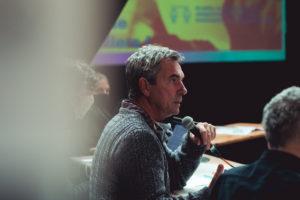 LAURIE DIAZ | Le politologue et spécialiste en festivals de musique Emmanuel Négrier, aux États généraux des indépendants de la culture à Lyon en octobre