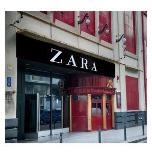 EDU CHIRINOS | Chirinos transforme la salle barcelonaise Apolo en magasin d'une chaîne de vêtements dans cet autre montage photographique