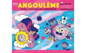 ARCHIVE | Le double affiche du Festival d'Angoulême 2021, avec des accents manga, dessiné par Chloé Wary (gauche, janvier) et Willy Falby (droite, juin)