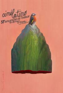 ARXIU | El cartell del Cinélatino 2021, que se celebra en dos moments al març, <em>online</em>, i al juny, presencial