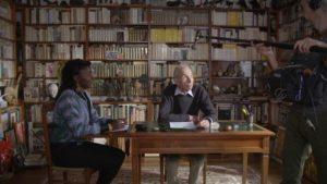 ARCHIVE | La directrice de <em>Nous</em>, Alice Diop, en filmant l'écrivain Pierre Bergounioux et parlant sur la conservation de la mémoire de leurs origines respectifs