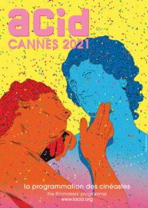 ARXIU | El cartell de la programació de l'ACID Canes 2021, obra de Marie Mohanna