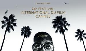 BOB PETERSON/NIKE/HARTLAND VILLA | El cartel del Festival de Cannes 2021, asomando la cabeza Spike Lee, presidente del jurado, en su primer largometraje Nora Darling rodado en 1985