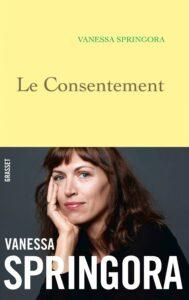 ARCHIVO | Portada del libro <em>Le Consentement</em>, denuncia de Vanessa Springora al escritor Gabriel Matzneff por los abusos sexuales cuando tenía catorce años