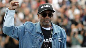 VALERY HACHE/AFP/FESTIVAL DE CANNES   Le réalisateur nord-américain Spike Lee, président du Festival de Cannes 2021, dans l'édition du 2018
