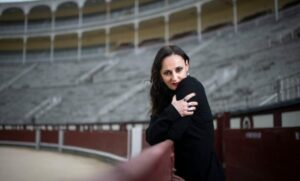 INMA FLORES | Angélica Liddell, en la plaza de toros de Las Ventas de Madrid