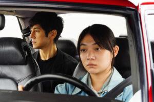 ARXIU | L'actor protagonista Nishijima Hidetoshi i la conductora del seu vehicle, Miura Toko, durant bona part de la pel·lícula Drive My Car, de Ryusuke Hamaguchi