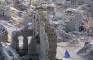 ÉRIC BOUVET | Image d'un Kaboul en décombres lors de l'intervention américaine d'octobre 2001
