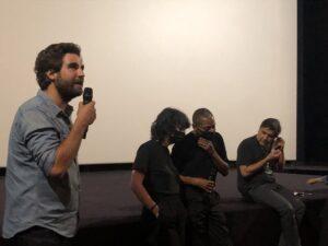 VICENÇ BATALLA | Gabin Rivoire, director de <em>Laurent Garnier: Off the Record</em>, presentant el seu documental