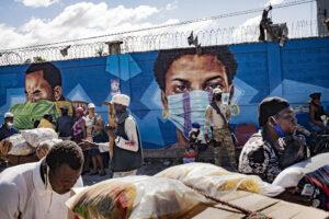 GUILLAUME BINET/MYOP/COMISSIÓ EUROPEA | Image de la frontière haïtienne avec la République dominicaine à Ouanaminthe (Juana Méndez), en novembre 2020