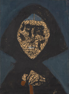COL·LECCIÓ JOËLLE LEMMENS/JORDI CANYAMERES   L'obra que serveix per a il·lustrar el cartell i el catàleg <em>Josep Bartolí. Els colors de l'exili</em>, i que sense datar-ho Bartolí va titular <em>Spain is different</em>